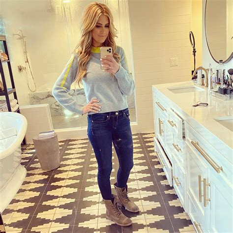 Christina Anstead's Husband Ant Leaves a Hot Comment on