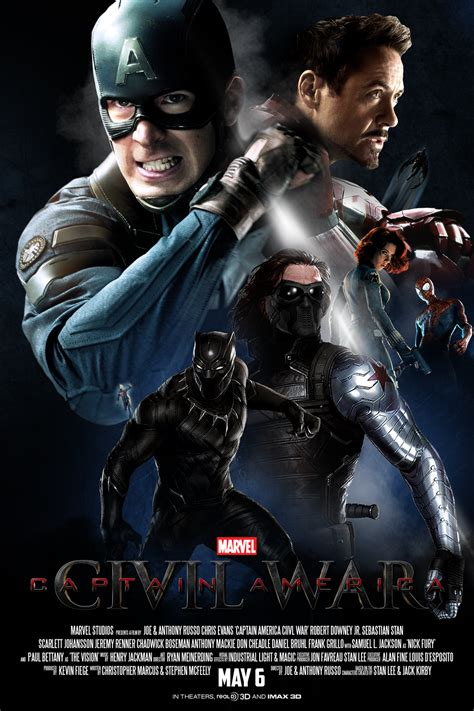 Captain America Civil War: 7 Awesome FAKE Movie Posters