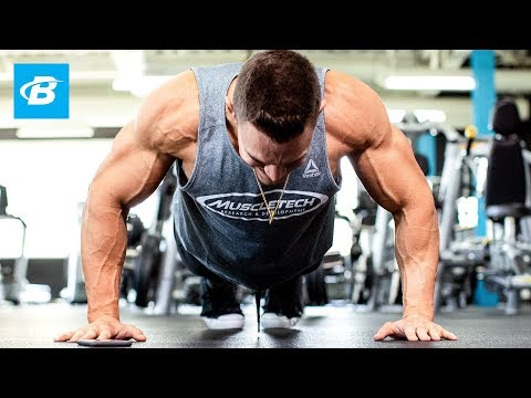Arnold's Chest & Back Workout: The Best Pump Of All