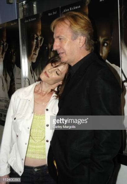 Alan Rickman Stock Photos and Pictures   Getty Images
