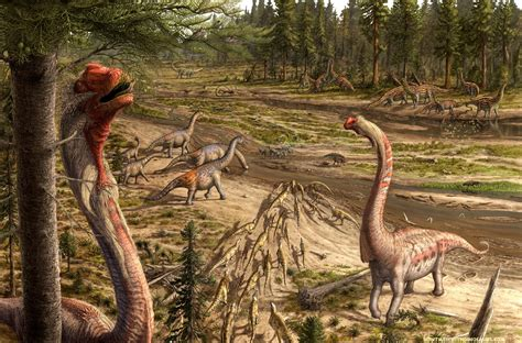 How 'paleoart' drawings bring dinosaurs back to life