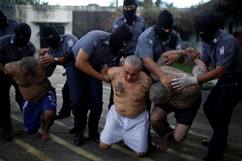 In Central America, gangs like MS-13 are bad – but corrupt