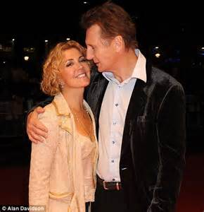 Liam Neeson and Vanessa Redgrave share tender embrace as